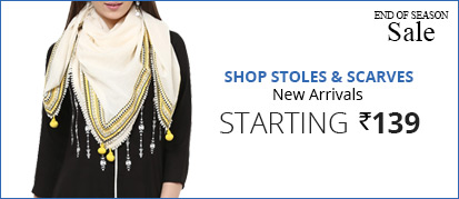 Stoles & Scarves - starting at 139
