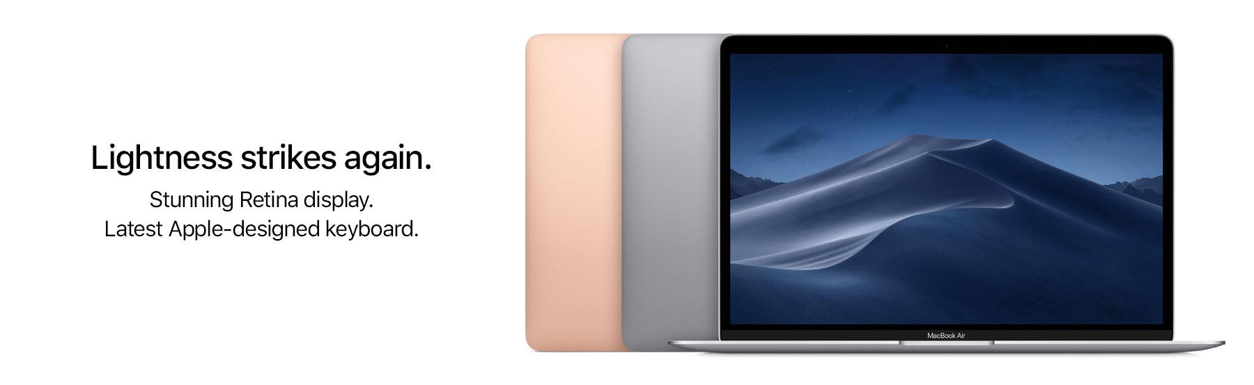 Macbook Air - Buy Macbook Air 2018 Online at Best Prices in India