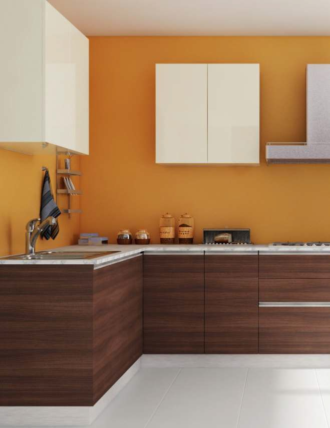 100 modular kitchen designs on evok by hindware for Kichan farnichar design