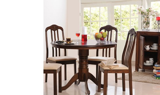 solid wood dining table online