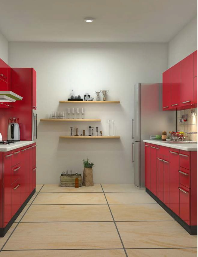 100 modular kitchen designs on evok by hindware for Online modular kitchen designs