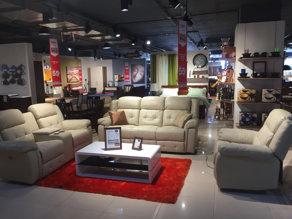 1 furniture store in bangalore marathahalli evok by for Online furniture shopping bangalore