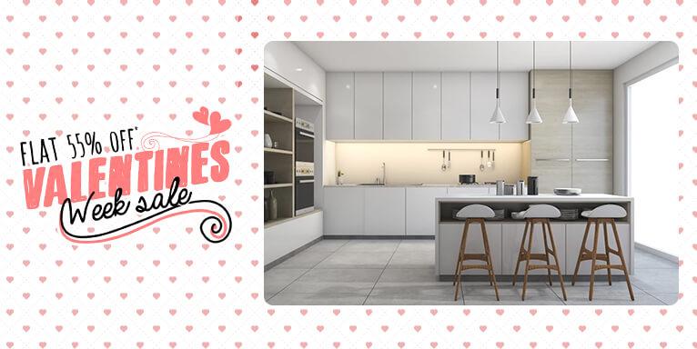 100 modular kitchen designs on evok by hindware for Modular kitchen size 12 8