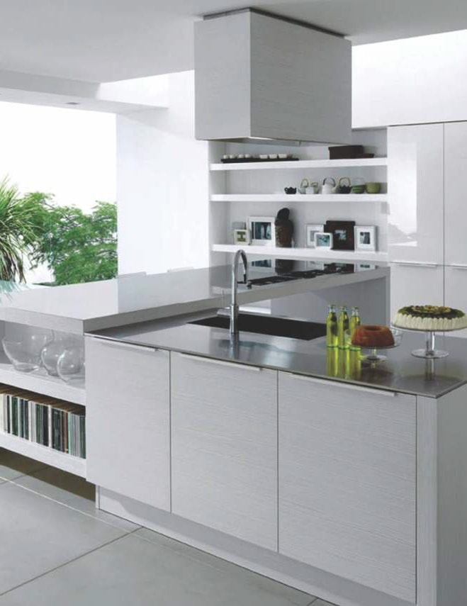 100 modular kitchen designs on evok by hindware for Sample modular kitchen designs
