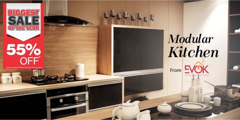 Modular Kitchen Design By Evok Hindware Book Expert Now