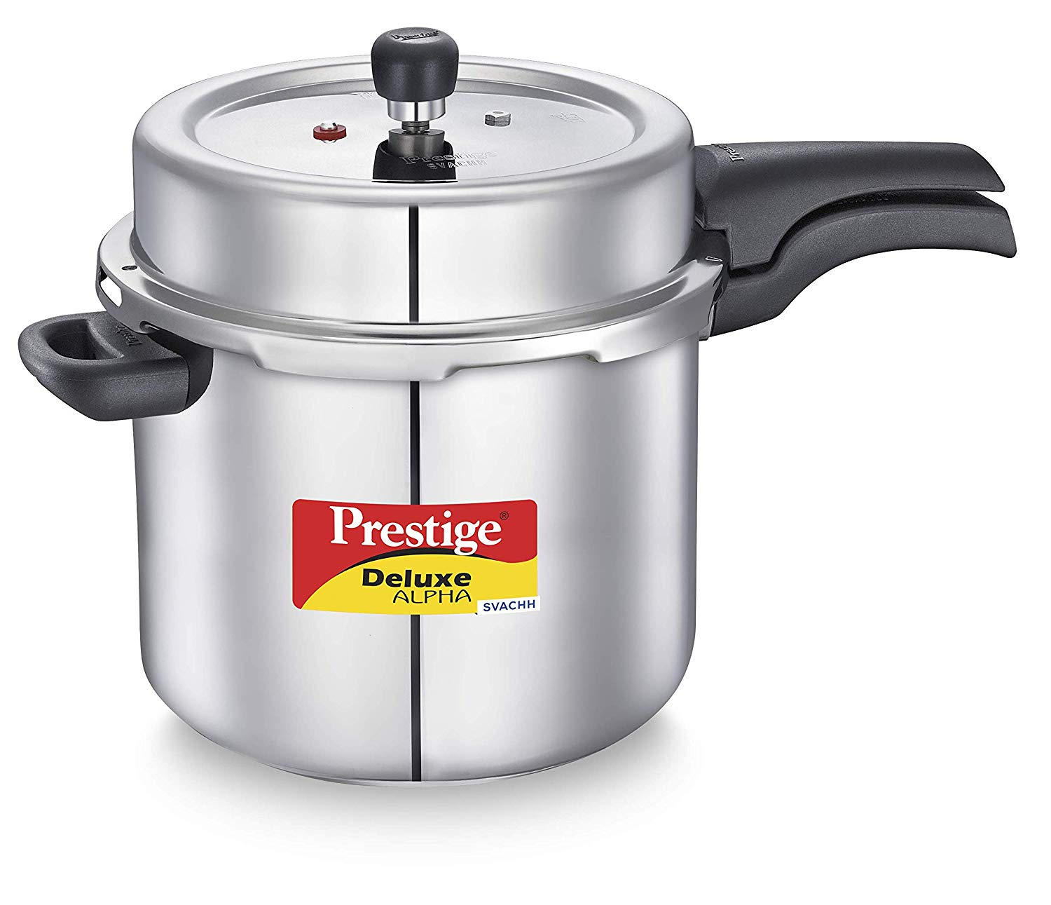 SS Deluxe Alpha Svachh Stainless steel Pressure Cooker 10 L