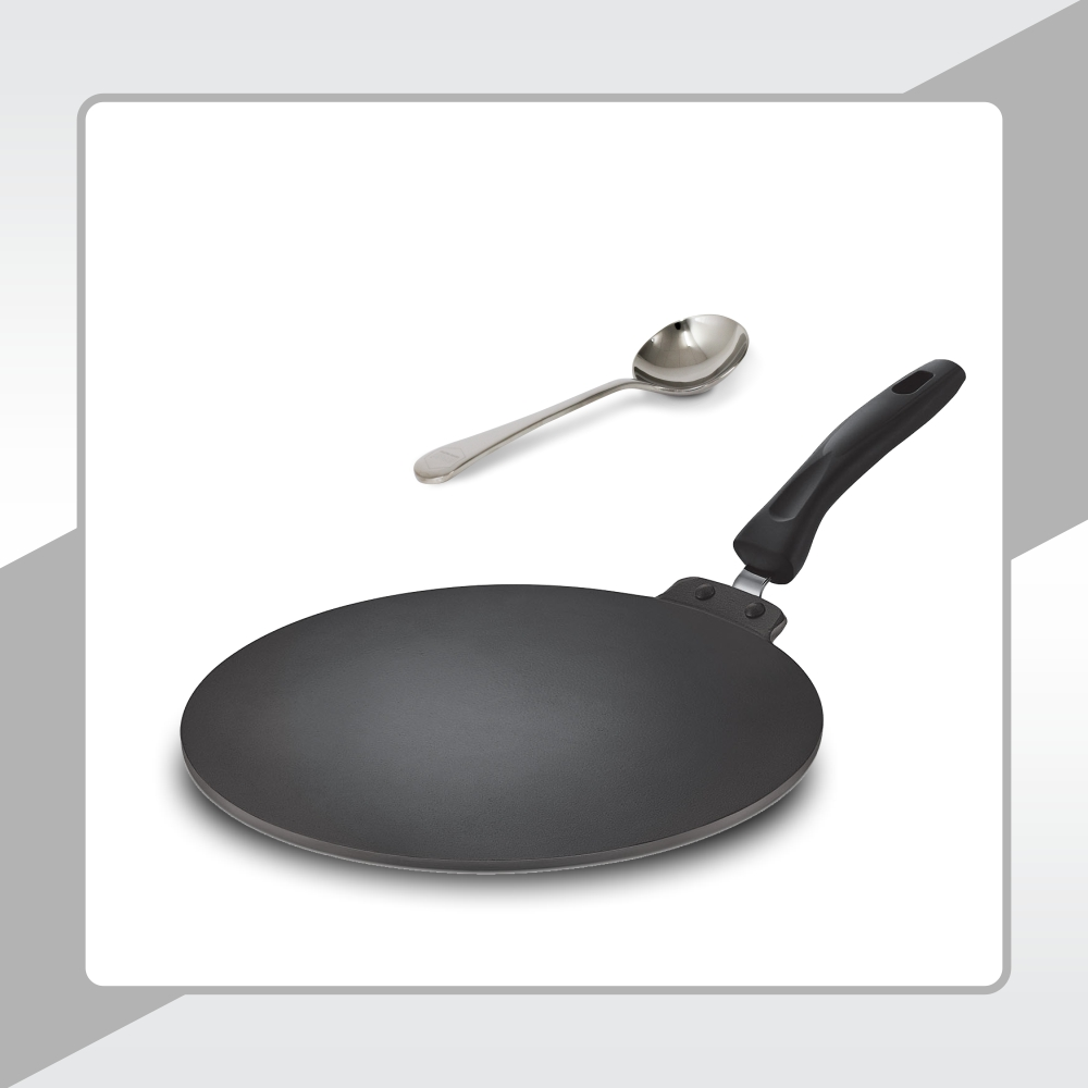 METAL SPOON FRIENDLY NON-STICK SURFACE