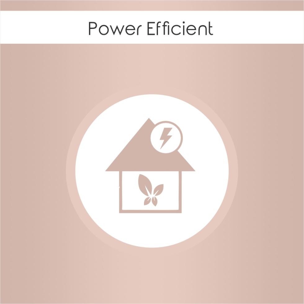 Power EFFICIENT (800 watts)
