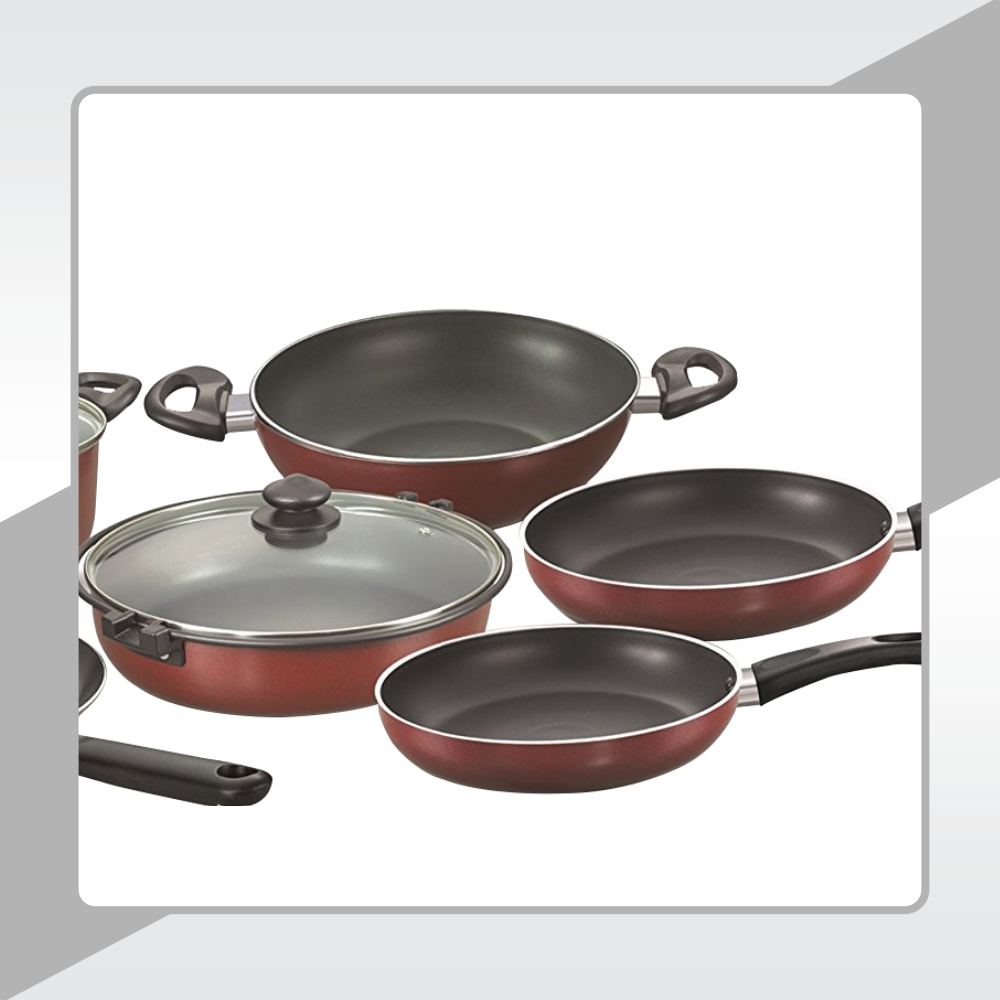 3- LAYER METAL SPOON FRIENDLY  NON-STICK COATING