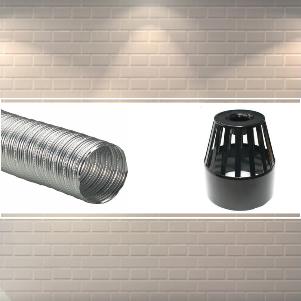 ALUMINIUM  DUCT PIPE AND COVER