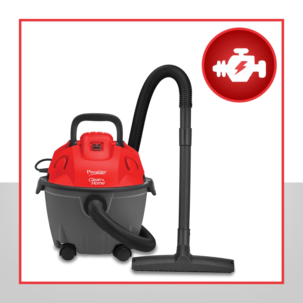 POWERFUL SUCTION AND BLOWER FUNCTION