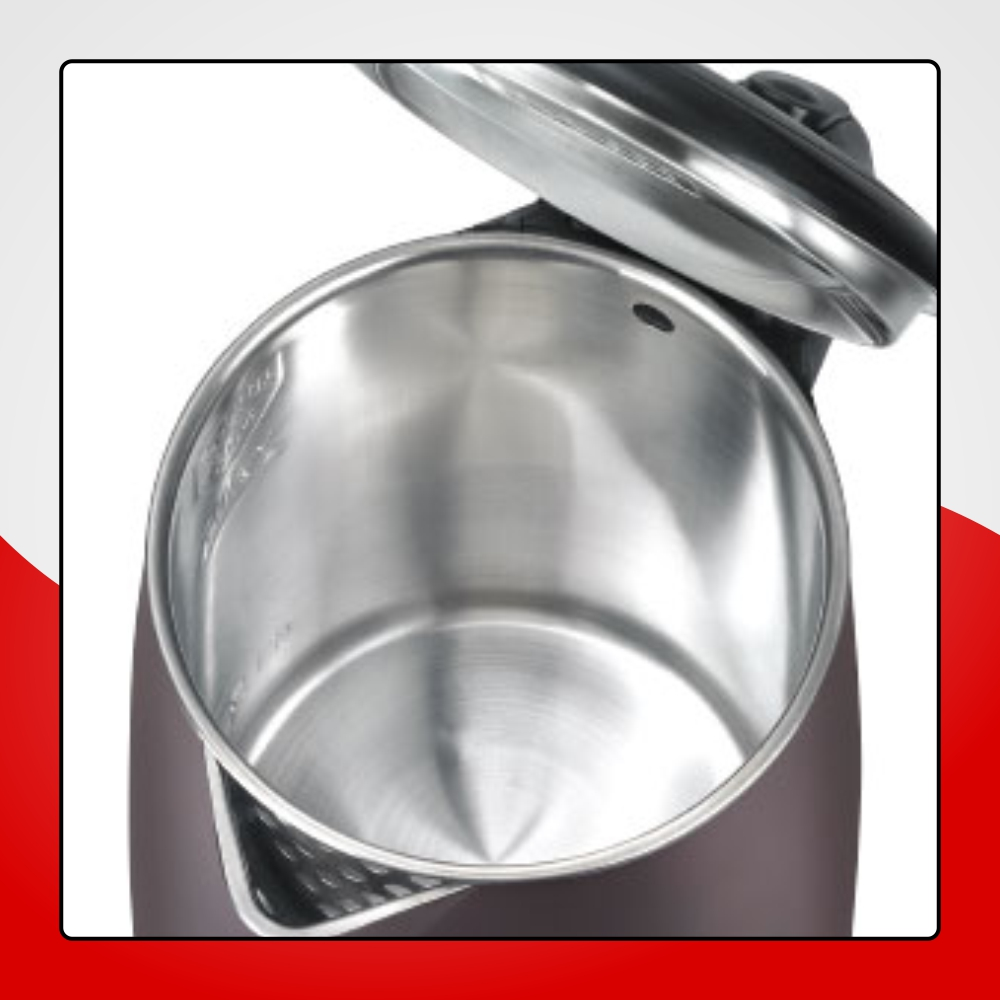 DURABLE STAINLESS STEEL INNER FINISH WITH CONCEALED ELEMENT
