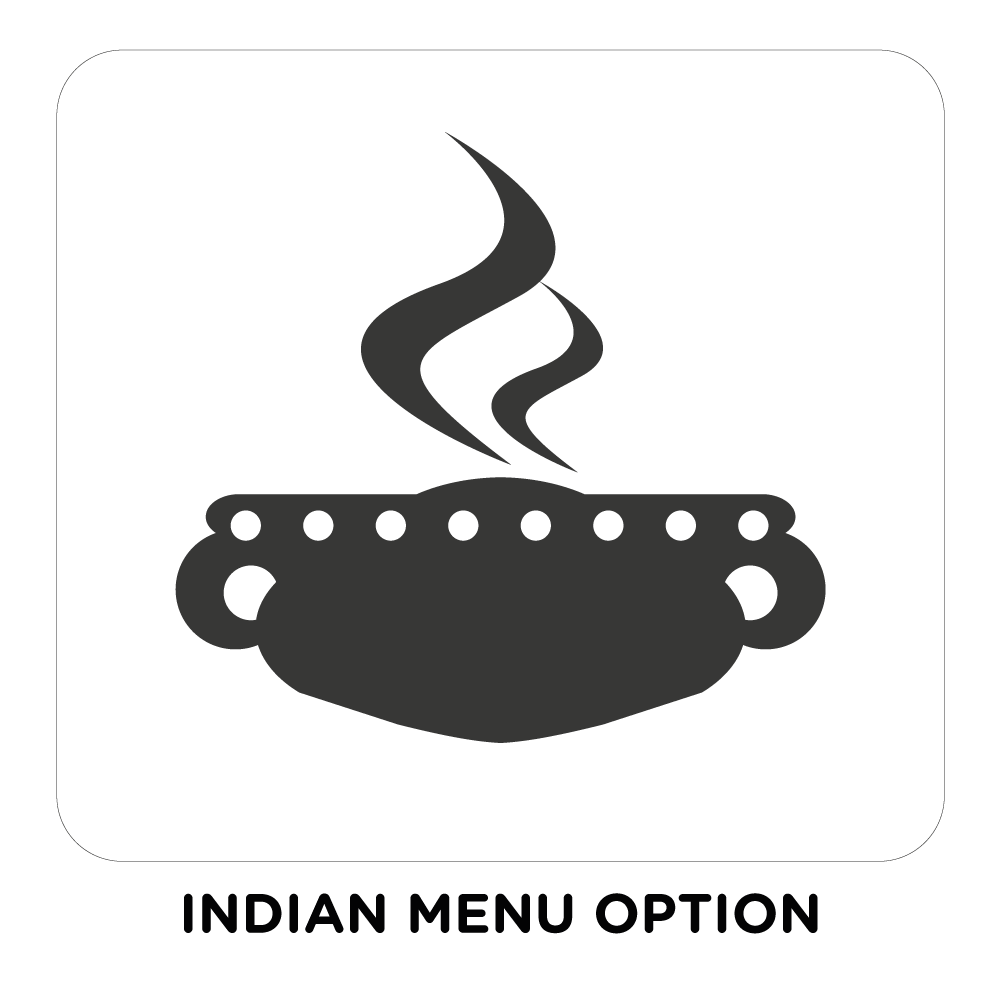 INDIAN MENU OPTION
