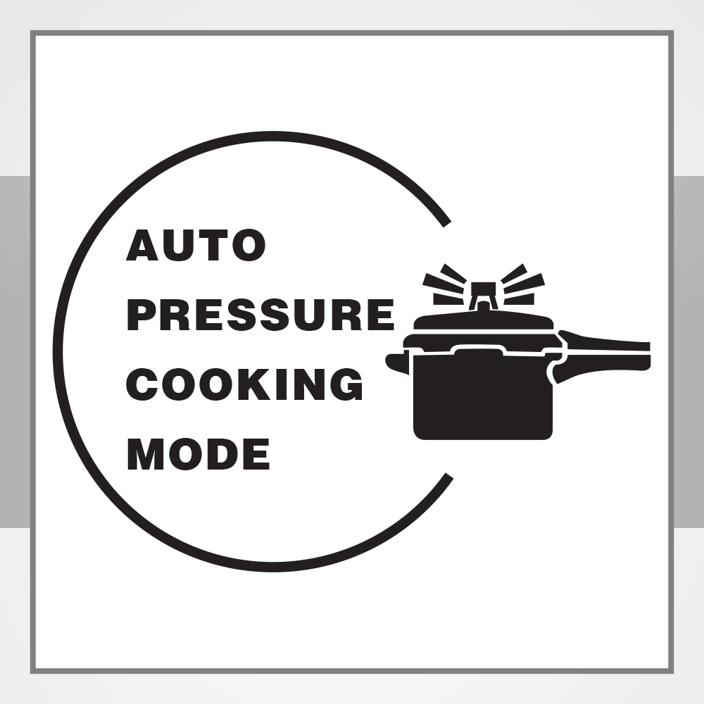 AUTO PRESSURE COOKING MODE FUNCTION