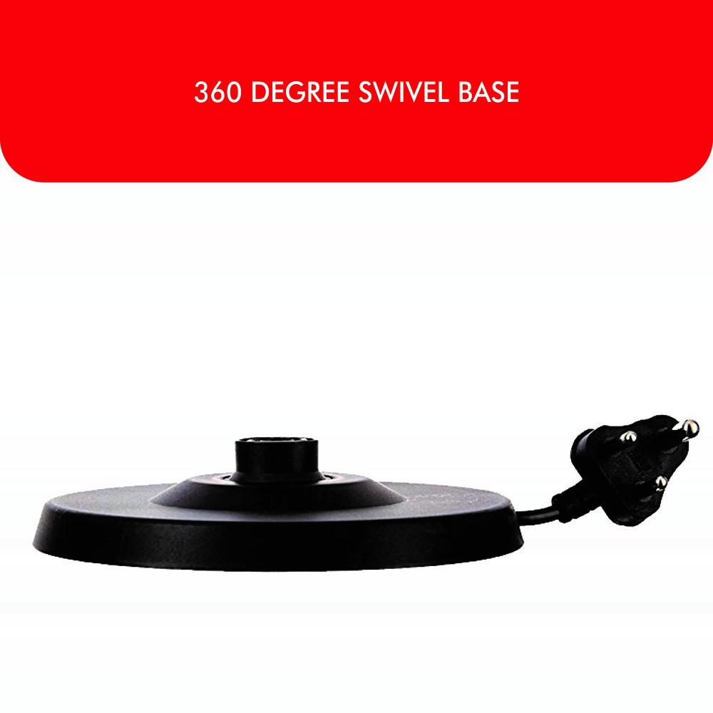 360 DEGREE SWIVEL BASE