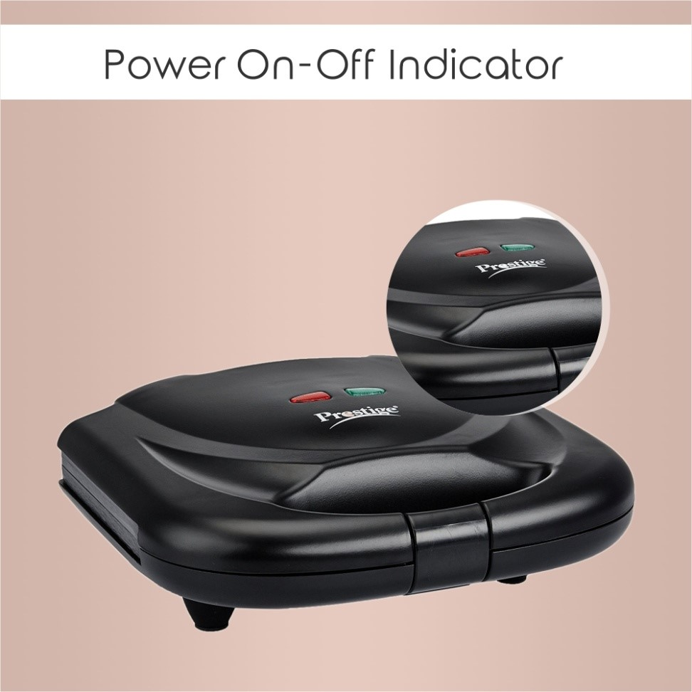 Power on and off indicators