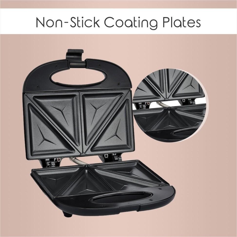 Non-stick coating plates