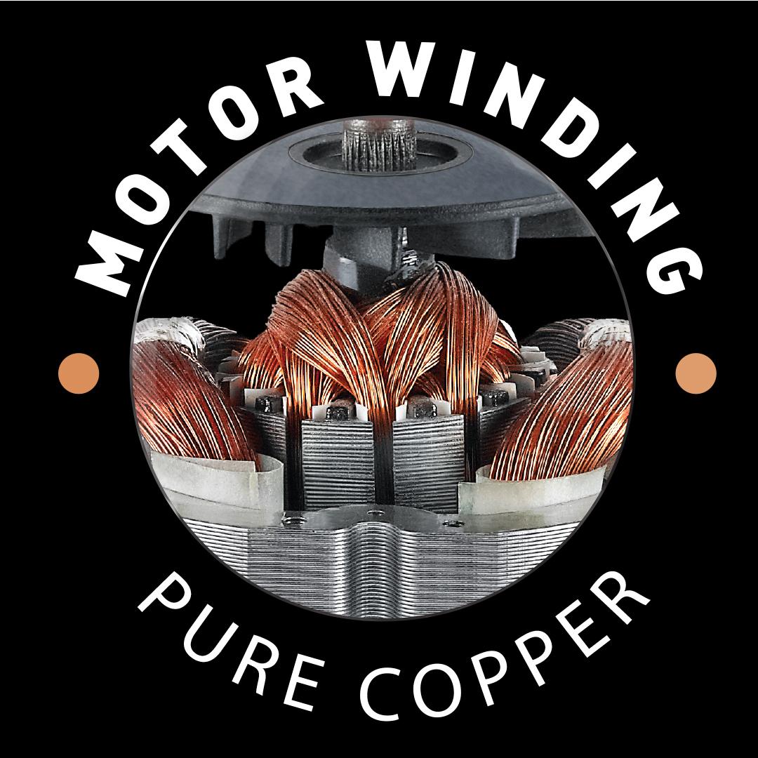 PURE COPPER WINDING MOTOR