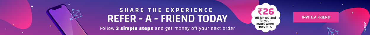 refer and earn offer