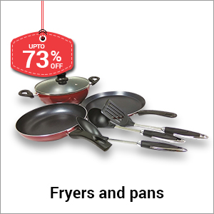 Fryers and pans